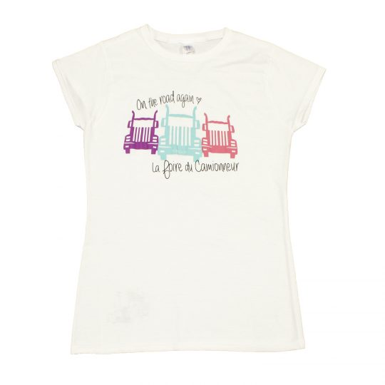 T-Shirt Femme - On the road again